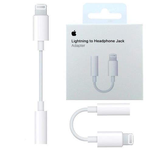 Adaptador de Lightning Auriculares de 3,5 mm Original Apple