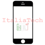 VETRINO per touchscreen iPhone 5 vetro touch screen NERO schermo display lcd