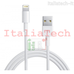 CAVO USB Lightning 2 metri per iPhone 5 IPAD cavetto ricarica dati 2m 200cm iOS7