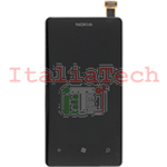 DISPLAY LCD + TOUCHSCREEN PER NOKIA LUMIA 800 COMPLETO N800 schermo touch screen