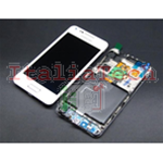 DISPLAY touchscreen completo FRAME LCD per Samsung i9070 Galaxy S Advance BIANCO