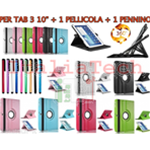 KIT SMART COVER per SAMSUNG GALAXY TAB 3 P5200 P5210 P5220 10.1 POLLICI CUSTODIA TABLET