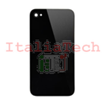 BACK COVER scocca posteriore compatibile per iPhone 4s nero guscio retro nera