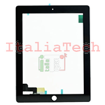 VETRO TOUCHSCREEN per display APPLE IPAD 2 NERO vetrino touch screen lcd ipad2