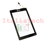 VETRO TOUCHSCREEN per LG KP500 kp501 kp502 COOKIE NERO vetrino touch screen