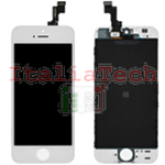 DISPLAY TOUCHSCREEN LCD COMPLETO per iPhone 5s BIANCO vetro touch schermo vetrino TOP AAA+