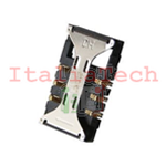 LETTORE SCHEDA SIM CARD PER SAMSUNG i8190 GALAXY S3 MINI socket no flat flex