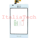 VETRO TOUCHSCREEN per LG E610 L5 Optimus vetrino touch screen BIANCO display schermo