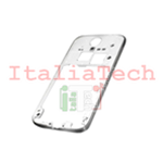 CORNICE CENTRALE per Samsung i9505 Galaxy S4 middle plate FRAME TASTO ON OFF VOLUME cover