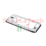 CORNICE CENTRALE per Samsung n7100 Galaxy NOTE 2 bianco middle plate FRAME TASTO VOLUME cover