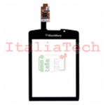 TOUCHSCREEN VETRINO per BlackBerry 9800 NERO touch screen frame schermo vetro