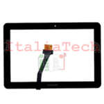 TOUCHSCREEN VETRINO per Samsung P7500 touch screen Galaxy Tab 10.1 10 NERO vetro