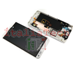 DISPLAY LCD TOUCHSCREEN CORNICE COMPLETO PER BLACKBERRY Z10 assemblato BIANCO 4G