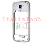 CORNICE CENTRALE per Samsung i9195 Galaxy S4 mini middle plate FRAME TASTO ON OFF VOLUME cover