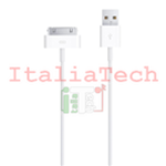 CAVO CAVETTO DATI CARICA 30PIN USB PER IPHONE IPAD 1 2 3 IPOD IPHONE 3G 3GS 4 4s IOS8