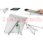 SUPPORTO UNIVERSALE da scrivania per Tablet iPad Tab dock stand compasso docking station tavolo