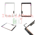VETRO TOUCHSCREEN ASSEMBLATO per iPad 5 Air touch screen tasto home biadesivo BIANCO