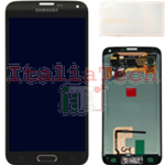 DISPLAY LCD ORIGINALE Samsung G900 Galaxy S5 GOLD ORO vetrino touch vetro schermo