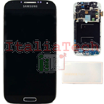 DISPLAY LCD ORIGINALE Samsung i9505 Galaxy S4 Black Edition nero vetrino touch vetro schermo