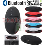 CASSA PORTATILE BLUETOOTH USB WIRELESS SD MP3 SMARTPHONE SPEAKER ALTOPARLANTE AMPLIFICATA
