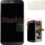 DISPLAY LCD ORIGINALE Samsung i9195 Galaxy S4 Mini nero Black Edition schermo completo
