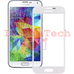 VETRINO per touchscreen Samsung Galaxy S5 mini G800 BIANCO vetro touch screen SM-G800F