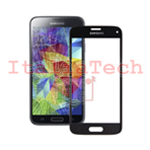 VETRINO per touchscreen Samsung Galaxy S5 mini G800 NERO vetro touch screen SM-G800F