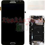 DISPLAY LCD ORIGINALE Samsung N7505 Galaxy NOTE 3 Neo NERO touch vetro schermo