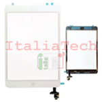 VETRINO touchscreen ASSEMBLATO per iPad Mini 2 Retina BIANCO vetro touch tasto home IC chip