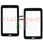 "VETRO TOUCHSCREEN per Samsung T110 vetrino touch screen Galaxy Tab 3 LITE 7"" NERO"