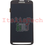 DISPLAY LCD ORIGINALE Samsung i9295 Galaxy S4 Active vetrino touch vetro schermo