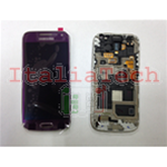 DISPLAY LCD ORIGINALE Samsung i9195 Galaxy S4 Mini VIOLA touch vetro schermo completo