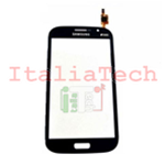 VETRO TOUCHSCREEN per Samsung i9060i Galaxy Grand Neo Plus vetrino touch screen NERO/BLU
