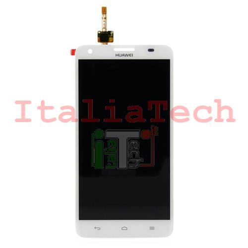 LCD DISPLAY + TOUCH COMPLETO PER HUAWEI ASCEND G750 BIANCO touchscreen vetro