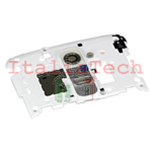 COVER CAMERA POSTERIORE TASTI volume accensione per LG G2 D801 D802 D803 BIANCO