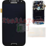 DISPLAY LCD ORIGINALE Samsung i9506 Galaxy S4 LTE Black Edition nero vetrino touch vetro schermo
