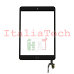 VETRINO touchscreen ASSEMBLATO per iPad Mini 3 Retina NERO vetro touch IC chip
