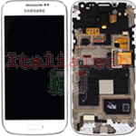 DISPLAY LCD ORIGINALE Samsung i9195i Galaxy S4 Mini PLUS bianco schermo completo