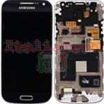DISPLAY LCD ORIGINALE Samsung i9195i Galaxy S4 Mini PLUS nero schermo completo