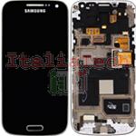 DISPLAY LCD ORIGINALE Samsung i9195i Galaxy S4 Mini PLUS nero Black Edition schermo completo