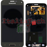 DISPLAY LCD ORIGINALE Samsung G800 Galaxy S5 mini ORO gold vetrino touch vetro schermo