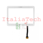VETRO TOUCH SCREEN per SAMSUNG Galaxy TAB 4 10.1 T530 T535 BIANCO TOUCHSCREEN