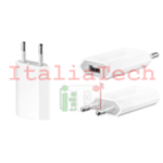 CARICABATTERIA DA PARETE presa usb da 1000 mah per dispositivo apple iphone 3g 4 4s 5 6 6s