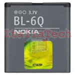 BATTERIA originale BL-6Q per NOKIA 6700c 6700c Illuvial DO 6700 Classic