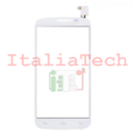 VETRO TOUCHSCREEN per Alcatel One Touch C9 OT7047 vetrino touch screen BIANCO