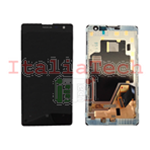 DISPLAY LCD COMPLETO PER NOKIA LUMIA 1020 TOUCHSCREEN schermo touch screen NERO