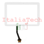 TOUCHSCREEN VETRINO per Samsung P7500 touch screen Galaxy Tab 10.1 10 BIANCO vetro