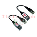 VIDEO BALUN PASSIVO 1CH 400/600M CU/AU RJ45 PER CAVO UTP CAT.5 - VS-VB-KS202