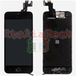 DISPLAY LCD ASSEMBLATO per iPhone 5s nero vetro touchscreen schermo COMPLETO TOP AAA+