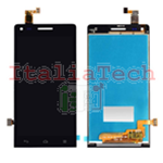 LCD DISPLAY + TOUCH COMPLETO ORIGINALE PER HUAWEI ASCEND G6 NERO touchscreen vetro